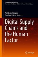 Digital Supply Chains and the Human Factor PDF