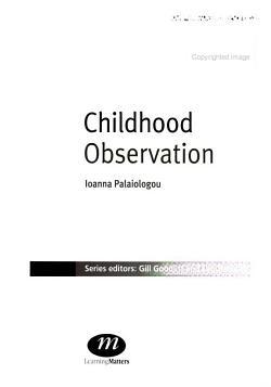 Childhood Observation PDF