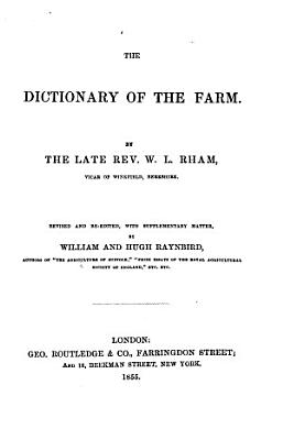 The Dictionary of the Farm PDF