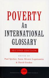 Poverty: An International Glossary
