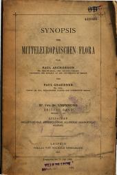 Synopsis der Mitteleuropaischen Flora: Band 1