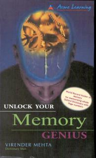 Unlock Your Memory Genius Book