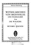 Wotans Abschied von Br  nnhilde und Feuerzauber from Die Walk  re PDF