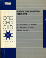 Agricultural Marketing in Lesotho PDF