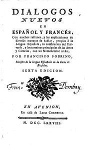 Dialogos nuevos en Espanol y Frances