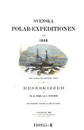 Svenska Polar-Expeditionen, ar 1868. Reseskizzer