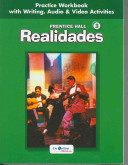 Prentice Hall Spanish  Realidades Practice Workbook Writing Level 3 2005c Book