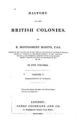 History of the British Colonies: Possessions in Europe