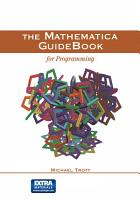 The Mathematica GuideBook for Programming PDF