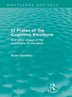 In Praise of the Cognitive Emotions  Routledge Revivals  PDF