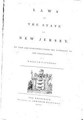 Laws of the State of New Jersey
