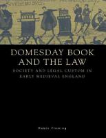 Domesday Book and the Law PDF