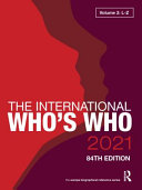 The International Who's who 2021