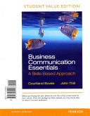 Business Communication Essentials Student Value Edition Plus 2014 Mybcommlab With Pearson Etext Access Card Book PDF