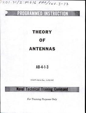 Theory of Antennas  AB 4 1 3 PDF