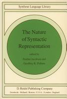 The Nature of Syntactic Representation PDF