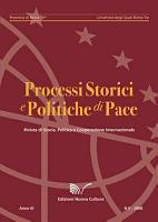 Rivista Processi storici e politiche di pace n  5 2008 PDF