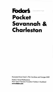 Savannah and Charleston 2000