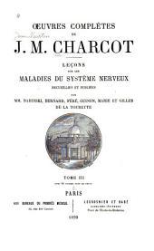Oeuvres complètes de J.M. Charcot