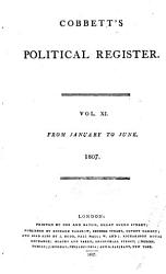 Cobbett S Political Register Book PDF
