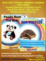 Box Set Funny Animal Books For Kids  Panda Pictures   Panda Facts Book For Kids   Sea Turtle Picture Book For Kids PDF