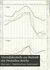 Vierteljahrshefte zur Statistik des Deutschen Reichs: Band 12,Ausgabe 1