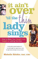 It Ain t Over  til the Thin Lady Sings PDF