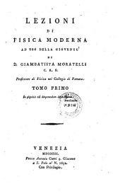 Lezioni di fisica moderna: Volume 1