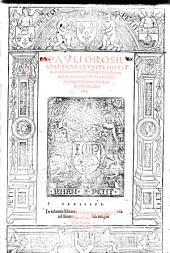Historiarum liber, e tenebarum faucibus in lucem aeditus