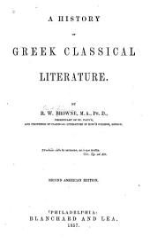 A History of Greek Classical Literature