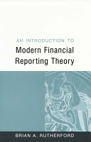 An Introduction to Modern Financial Reporting Theory PDF