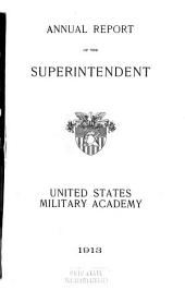Annual Report of the Superintendent - United States Military Academy