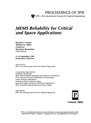 MEMS Reliability for Critical and Space Applications PDF