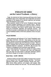 Encyclopedia of Ohio Indians