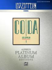 Led Zeppelin - Coda Platinum Bass Guitar: Authentic Bass TAB