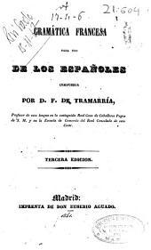 Gramática francesa para uso de los españoles