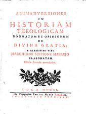 Animadversiones in historiam theologicam dogmatum et opinionum de divina gratia