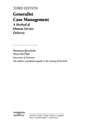 Generalist Case Management PDF