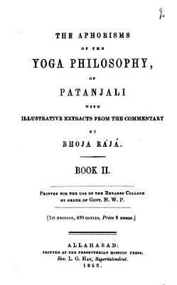 The Aphorisms of the Yoga Philosophy of Patanjali PDF