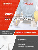 2021 NASCLA Accredited Commercial General Building Contractor - Volume 2
