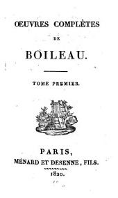 Oeuvres complètes: Volume1