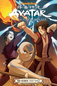 Avatar  the Last Airbender   the Search Part 3 Book