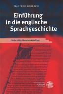 Einf  hrung in die englische Sprachgeschichte PDF