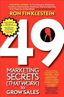 49 Marketing Secrets  That Work  to Grow Sales PDF