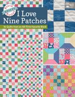 Block Buster Quilts   I Love Nine Patches PDF