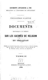 Documents relatifs à l'histoire du Gévaudan [ed. by F. André: Volume 2