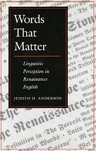 Words that Matter PDF