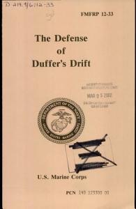 The Defense of Duffer s Drift PDF