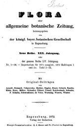 Flora, oder, Botanische Zeitung: welche Recensionen, Abhandlungen, Aufsätze, Neuigkeiten und Nachrichten, die Botanik betreffend, enthält, Band 55