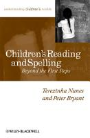 Children s Reading and Spelling PDF